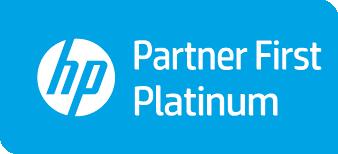 Logo HP Inc Platinum Partner First